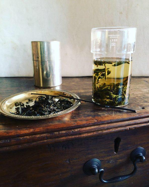 半発酵ほうじ茶