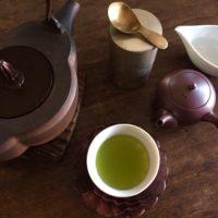 お茶の時間で繕いを 4月 日本のお茶「煎茶」