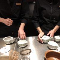 お茶トレーニング
