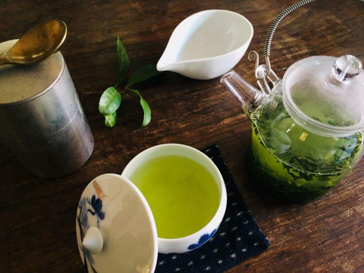 お茶の時間で繕いを 5月 春いちばん、初々しい「新茶」