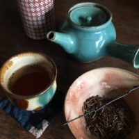 お茶の時間で繕いを10月 香りを楽しむ秋のお茶