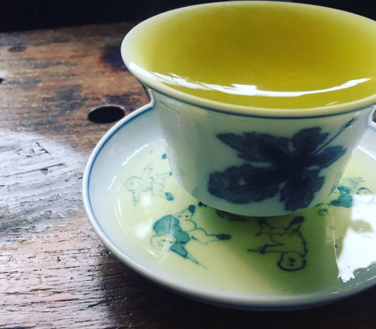 お茶の時間で繕いを。11月「熟成した秋のお茶」