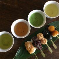 お茶の時間で繕いを12月「日本茶いろいろ」